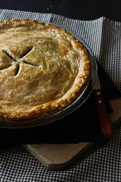 Tourtière- French Canadian meat pie.