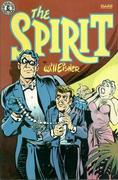 The Spirit #05 Cover - Will Eisner