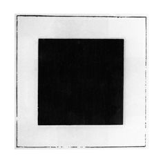 Black Square Giclee Baskı