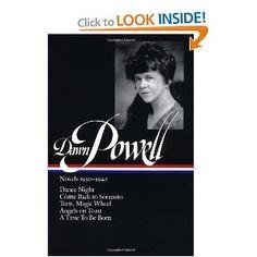 Dawn Powell: Novels 1930-1942 (Library of America) http://www.amazon.com/gp/product/1931082014/ref=pd_lpo_k2_dp_sr_2?pf_rd_p=486539851_rd_s=lpo-top-stripe-1_rd_t=201_rd_i=1931082022_rd_m=ATVPDKIKX0DER_rd_r=0HZ191M4XH5T4P5HAQK6