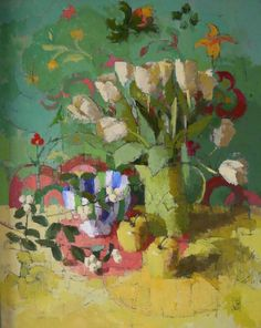 Tulips by Jill Barthorpe  Francis Iles Gallery Rochester  Copyright remains with the artist