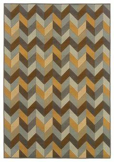 Sphinx by Oriental Weavers Bali 4902X Outdoor Rug, Gray - contemporary - outdoor rugs - Hayneedle