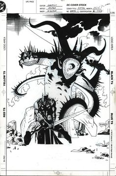 Legends of the Dark Knight Annual by Mike Mignola