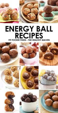 Looking for a healthy, on-the-go snack that's packed with protein, vitamins, and minerals? Look no further! Make one of these Energy Ball Recipes. #snacks #healthy