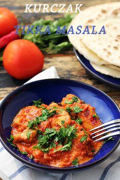 Kurczak tikka masala - kuchnia indyjska