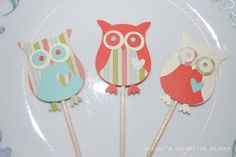 I love how easy these were to make!  All you need is some card stock and the owl builder punch from Stampin Up!