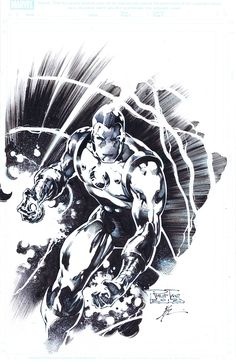 Iron Man by Jonathan Glapion