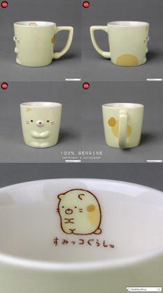 San-X Sumikko Gurashi 角落生物 Long Handle Ceramics Mug Gift Box Set