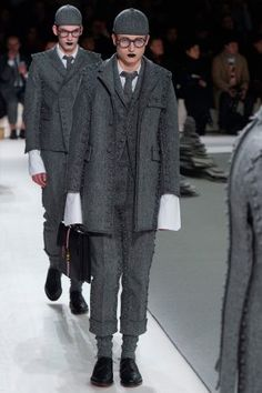Thom Browne showed his Fall/Winter 2017 collection during Paris Fashion Week.