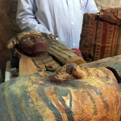 Egyptian archaeologists unearth the tomb of a nobleman from more than 3,000 years ago.
