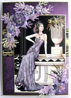 Arts And Crafts App Refferal: 5794962177 Art Deco Posters, Vintage Posters, Vintage Cards, Vintage Images, Art Nouveau, Art Deco Cards, Art Deco Illustration, Illustrations, Art Deco Design