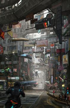 Sci Fi Concept Art Cyberpunk Shadowrun 42 Ideas For 2019 Cyberpunk City, Ville Cyberpunk, Cyberpunk Kunst, Cyberpunk Aesthetic, Futuristic City, Cyberpunk Tattoo, City Aesthetic, Cyberpunk 2077, Cyberpunk Fashion