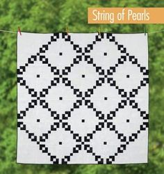 String of pearls quilt
