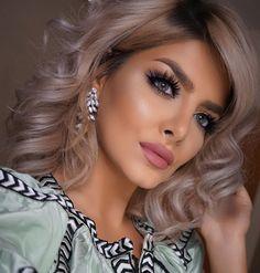 "Sheida Fashionista on Instagram: ""• Last Night's Makeup • ✨Brows @anastasiabeverlyhills Brow Wiz - Soft Brown ✨Shadows ABH Soft Peach & Dusty Rose ✨Liquid Liner @thebalm_cosmetics ✨Pencil Liner @soapandglory ✨Lashes @hudabeauty Scarlett ✨Contact Lenses @desioeyes Desert Dream ✨Skulpt @aestheticacosmetics ✨Blush @thebalm_cosmetics Instain - Spring ✨Highlight ABH So Hollywood✨Lipliner @lovegoshuk Antique Rose ✨Lipstick Smoothie  #anastasiabeverlyhills #hudabeauty #vegas_nay #laurag_143"""