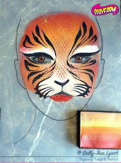 Face Painting Designs, Body Painting, Tiger Makeup, Facepaint Ideas, Face Paintings, Animal Faces, Painting For Kids, Face And Body, Spiderman
