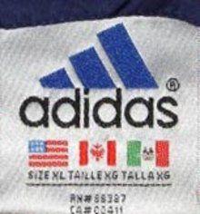 Vintage Fashion Guild Label Resource Adidas Vintage Labels Adidas Labels