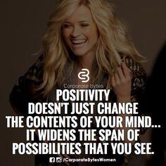 #positivitymakespossible