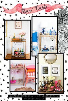 Bar cart - Vanessa Bayer Blog