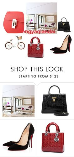 """""""Fengyaqiandai genuine leather bags20160114004"""" by houseofhello on Polyvore featuring Chateau d'Ax and Christian Louboutin"""