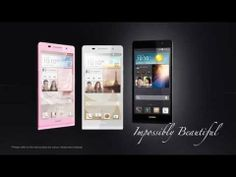 This phone IS BEAUTIFUL! I MUST have it!  Yes, a little bit of an iphone knock off....but who cares?  Huawei. Huawei Ascend P6 -- 2-Minute Encounter