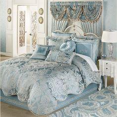 Regency Comforter Set Parisian Blue