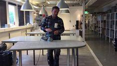 Betongbord med puts - Vatten- och fläcksäker ytbehandling