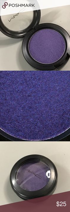 MAC Noir Plum Mega Metal eyeshadow NEW LE DC No box, new. Purple violet with subtle silver micro-shimmer and metallic sheen. One of the most beautiful purples! MAC Cosmetics Makeup Eyeshadow