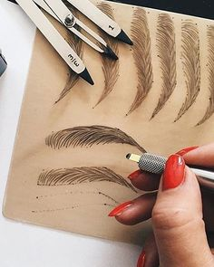 Eyebrow products were on 2016's Pinterest 100 list as a huge beauty trend. However, next year microblading, aka semi-permanently tattooing your eyebrows, will be a common practice in the grooming world.