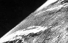 V-2 rocket - The first photo from space was taken from a V-2 launched by US scientists on 24 October 1946.