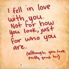 Quotes and inspiration about Love   QUOTATION – Image :    As the quote says – Description  Image with Cute Love Quote for Her.    - #LoveQuotes