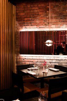 Sake Japanese Restaurant Is Located In Flinders Lane Melbourne Designed By Melissa Collison Interior