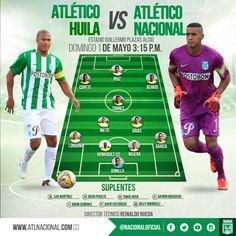 Titulares y emergentes para el partido vs Atlético Huila