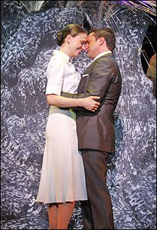 """Anyone Can Whistle"" Sutton Foster and Raul Esparza"