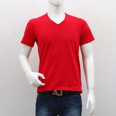 United Colors of Benetton – Red V Neck T Shirt Benetton, Shopping Sites, Men's Collection, Outlets, Cool Style, V Neck T Shirt, Break Outs, Style Fashion