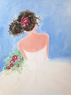 7766c8f2c7c 18 Best Paint Nite: Fashion images in 2019 | Beautiful paintings ...