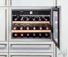 "I need one of these in the new house!!      Liebherr HWS1800 - 24""Wine Cabinet 1 Temp. Zone"