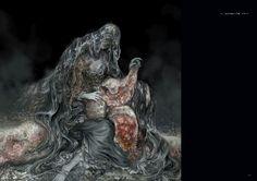 Dark Souls 3 Concept Art - Rosaria Concept Art