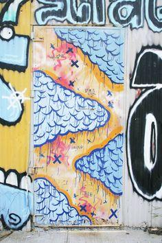 Door Inspiration : Painted Graffiti