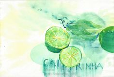 Sommer / Summertime / Verano / Été / 暑期 Painting, Watercolor Painting, Summer Time, Water Colors, Summer, Painting Art, Paintings, Painted Canvas, Drawings