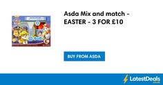 Asda Mix and match - EASTER - 3 FOR £10