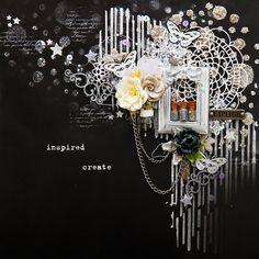 """Фабрика декора: """"Silver Shine"""". Вдохновение от Макаровой Даши."""