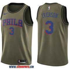 cba22c87093 Men s Nike Charlotte Hornets Michael Kidd-Gilchrist Green Salute to Service NBA  Swingman Jersey