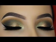 Smokey Golden Olive Eye Makeup Tutorial – ABH Subculture Palette – Beauty and Fashion Tips and Ideas Cat Eye Tutorial, Smokey Eye Makeup Tutorial, Eye Makeup Tips, Makeup Tools, Makeup Brushes, Makeup Tutorials, Makeup Videos, Makeup Inspo, Makeup Products