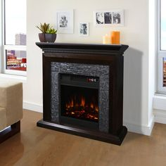 54 top best electric fireplace images electric fireplaces wall rh pinterest com