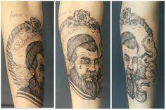 Tattoo#art#ink#marinheiro#sailor#forever