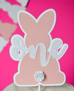 Bunny Favor Box - Some Bunny is One - Bunny Party Favors - Bunny First Birthday - Some Bunny is One Decor - Bunny Birthday Party Bunny Birthday Cake, Easter Birthday Party, 1st Birthday Party For Girls, One Year Birthday, Baby First Birthday, Birthday Diy, Birthday Party Themes, Birthday Decorations, Bunny Party