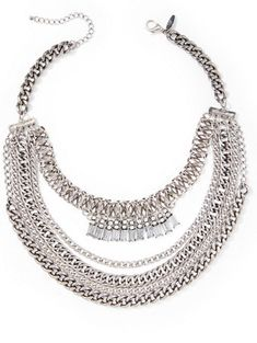 Shop Chain-Link Statement Necklace . Find your perfect size online at the best price at New York & Company.