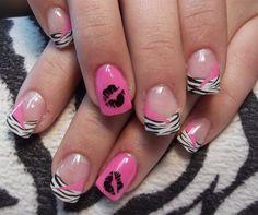 Cute nails.