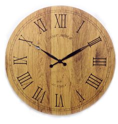 "20"" Tuscany Wooden Vintage Clock"