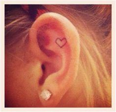 Résultats de recherche d'images pour « ear tattoos with piercings »